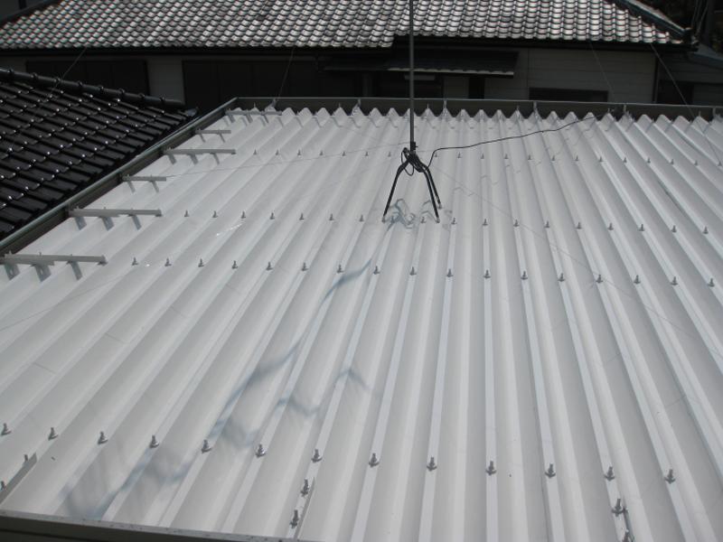 遮熱折板屋根