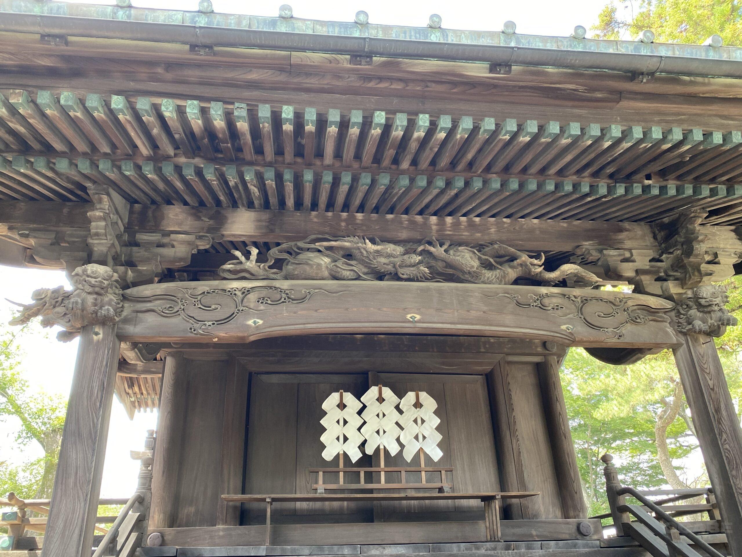 前橋東照宮の本殿改修を行っています!