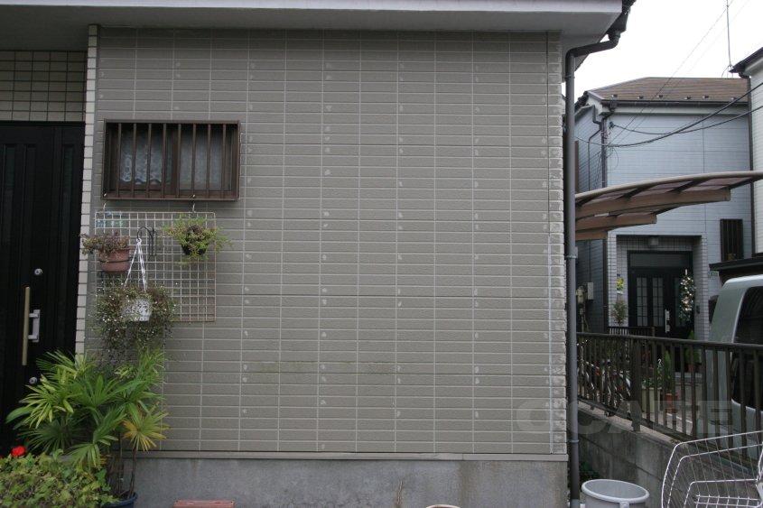 サイディング板への塗装 ②下地診断